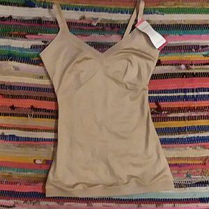 Spanx lingerie strap cami nude